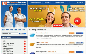Traditionally spammers distribute Viagra by decorating their web pages
