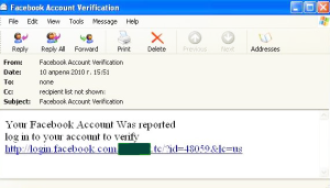 Facebook is once again the focus of the phishers attention...