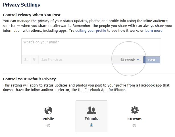 Facebook, now with more(?) privacy!   Securelist