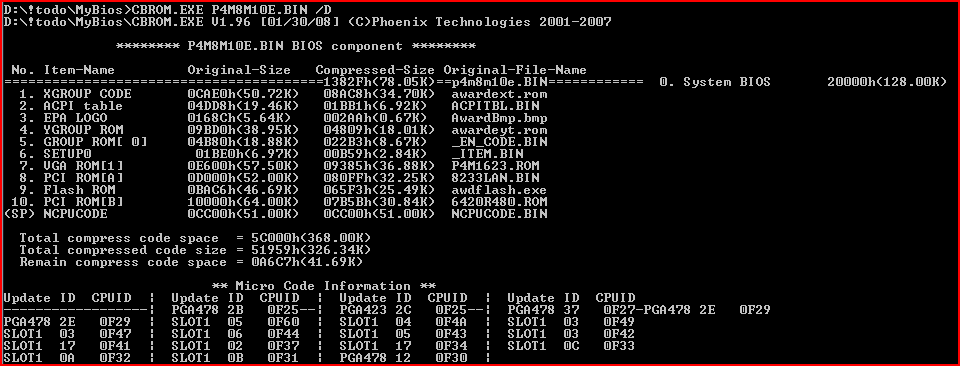 MYBIOS  Is BIOS infection a reality? | Securelist