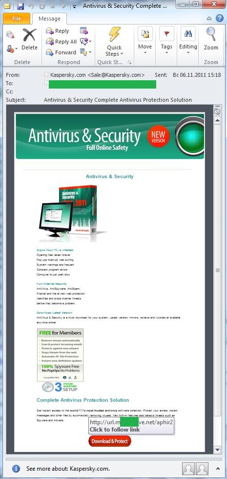 Fake Kaspersky Antivirus | Securelist
