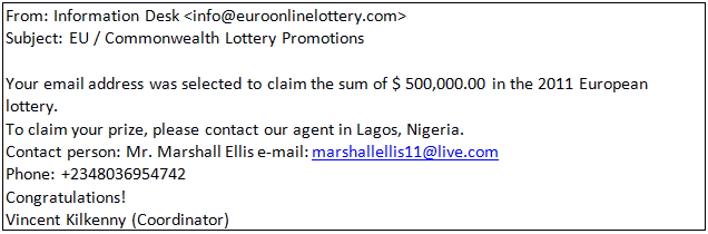 Congratulations, you've won! The reality behind online lotteries