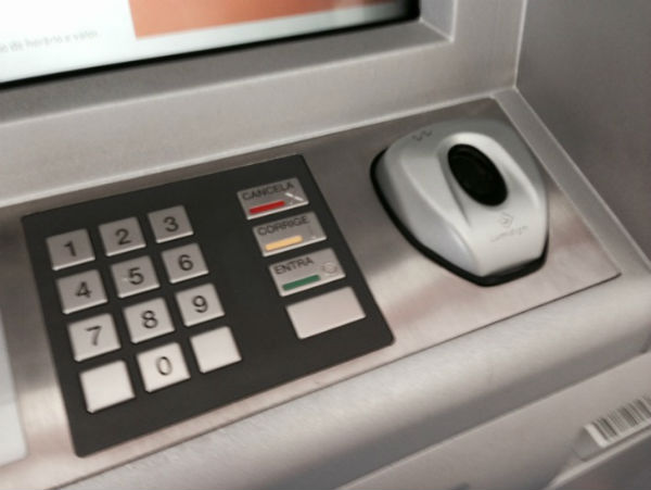 Biometric-based ATMs exist, but it's unlikely foreigners can use them