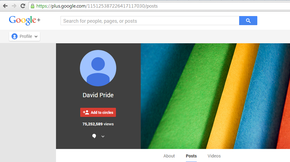 BE2 Google+ profile