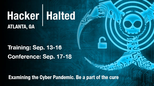 Point of view: Hacker Halted 2015