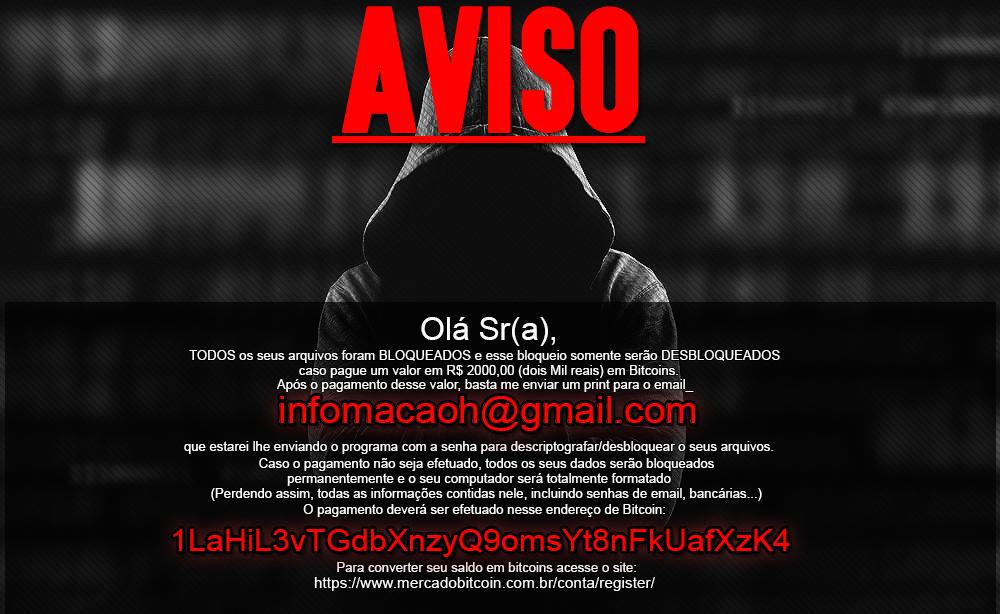 "The ""notification"" ransomware lands in Brazil"