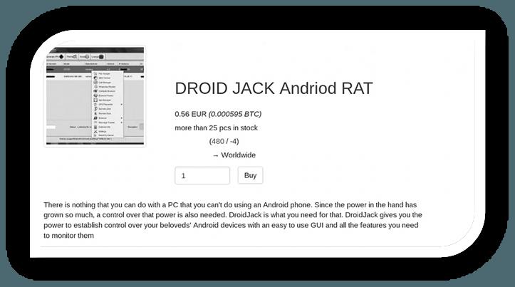 droidjack features