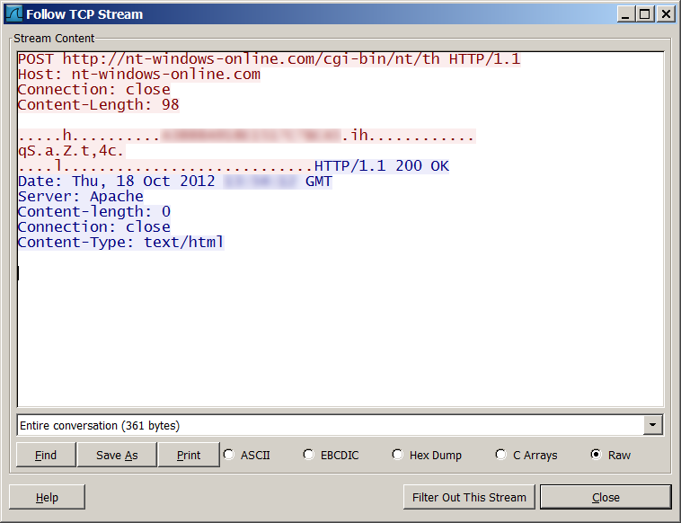 """Red October""""  Detailed Malware Description 1  First Stage of"""