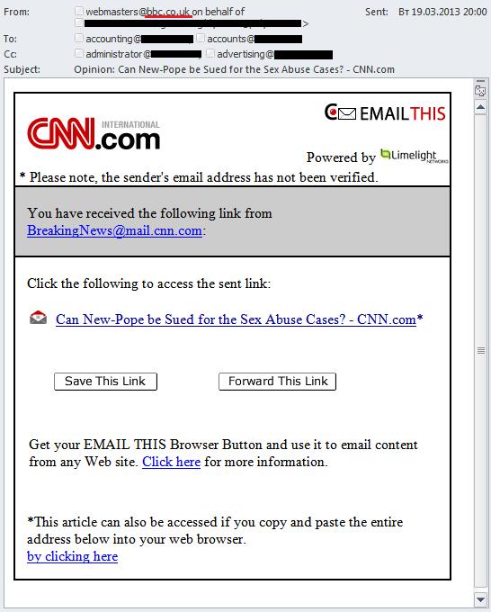 Spam in Q1 2013 | Securelist