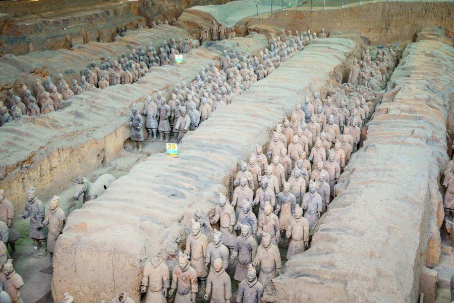 古代军阵模型