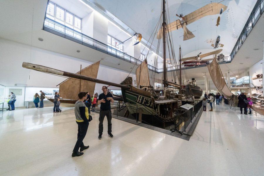 德意志博物馆参观记:带你亲眼看到世界上第一个字节