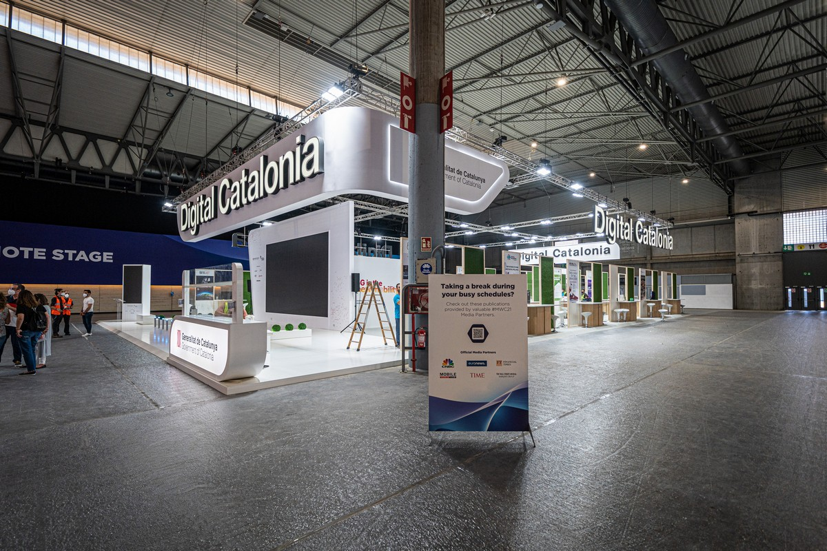 巴塞罗那会展中心:展会的紧张度