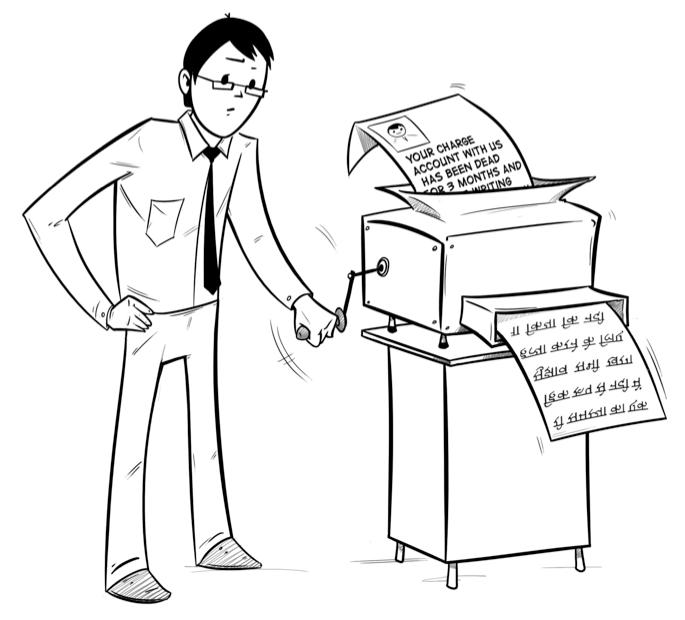 Paper-grinder