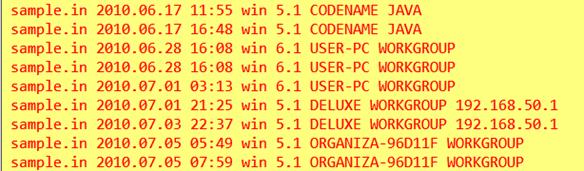 Пример информации, извлеченной из файла Stuxnet