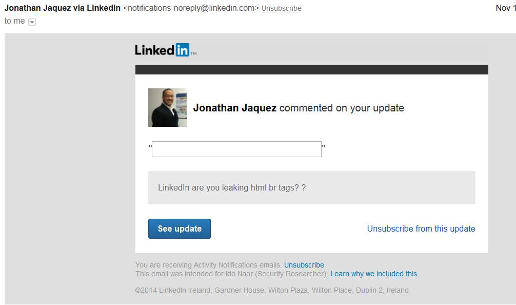 """Специалисты """"Лаборатории Касперского"""" предупреждают Linkedin о возможных фишинговых целевых атаках"""
