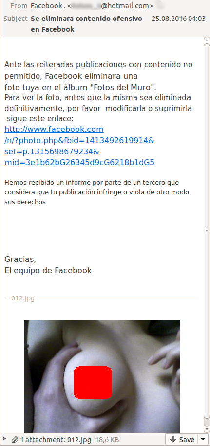 Facebook удалил ваше фото! Или нет...