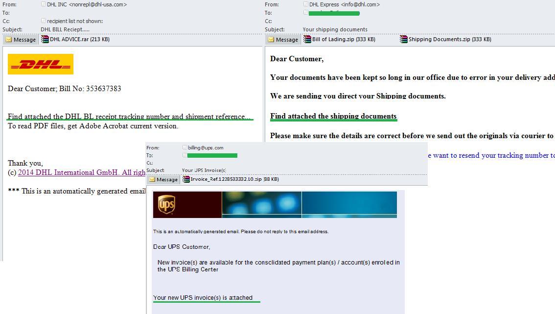 Spam-Lieferservice: Gefahr garantiert - Securelist