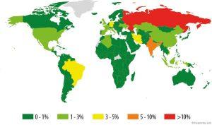 Entwicklung der IT-Bedrohungen im ersten Quartal 2015