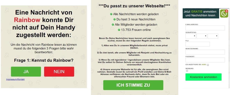 Werbung für nicht jugendfreie Sites als Benachrichtigungen von WhatsApp und Instagram getarnt