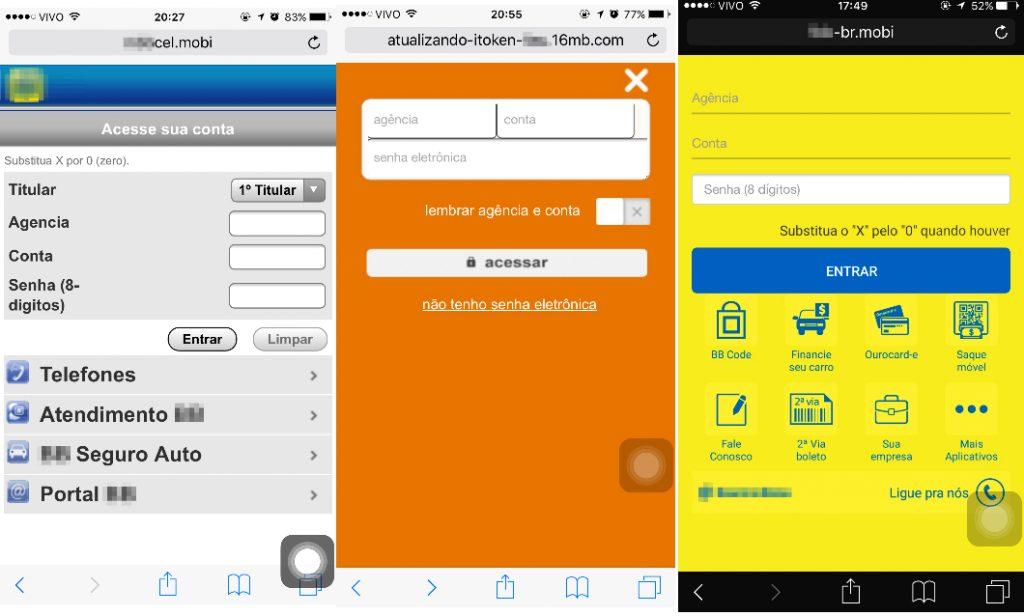 Ataques de SMiShing afetam usuários de mobile banking no Brasil