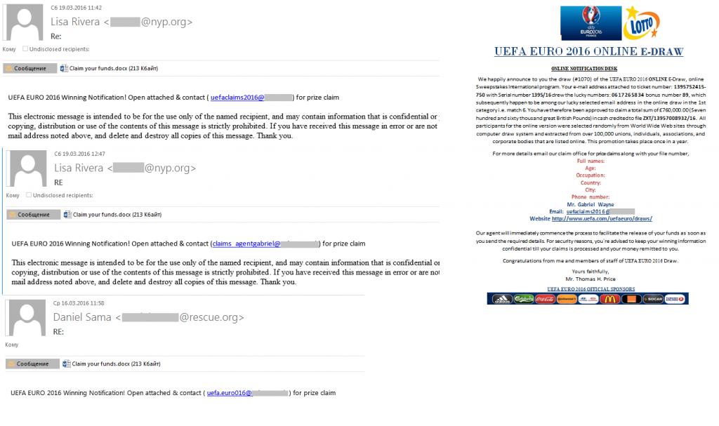 Boletín de seguridad Kaspersky. El spam en 2016