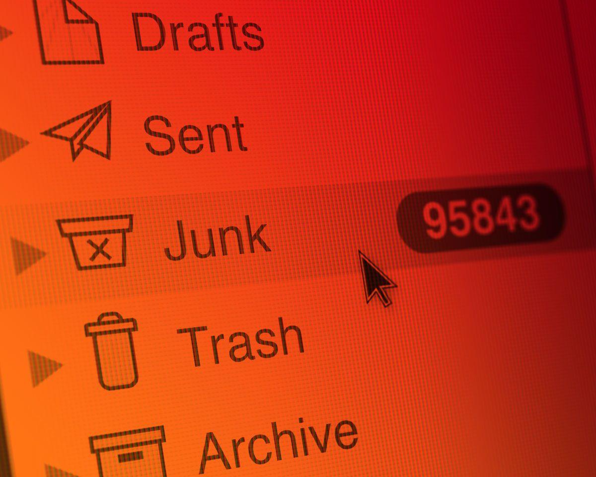 Spam y phishing en el primer trimestre de 2019