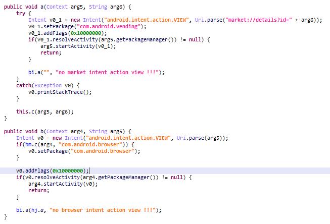 El troyano Triada está programado para mostrar anuncios y descargar e instalar aplicaciones sin consentimiento –mientras el usuario juega un mod de Minecraft