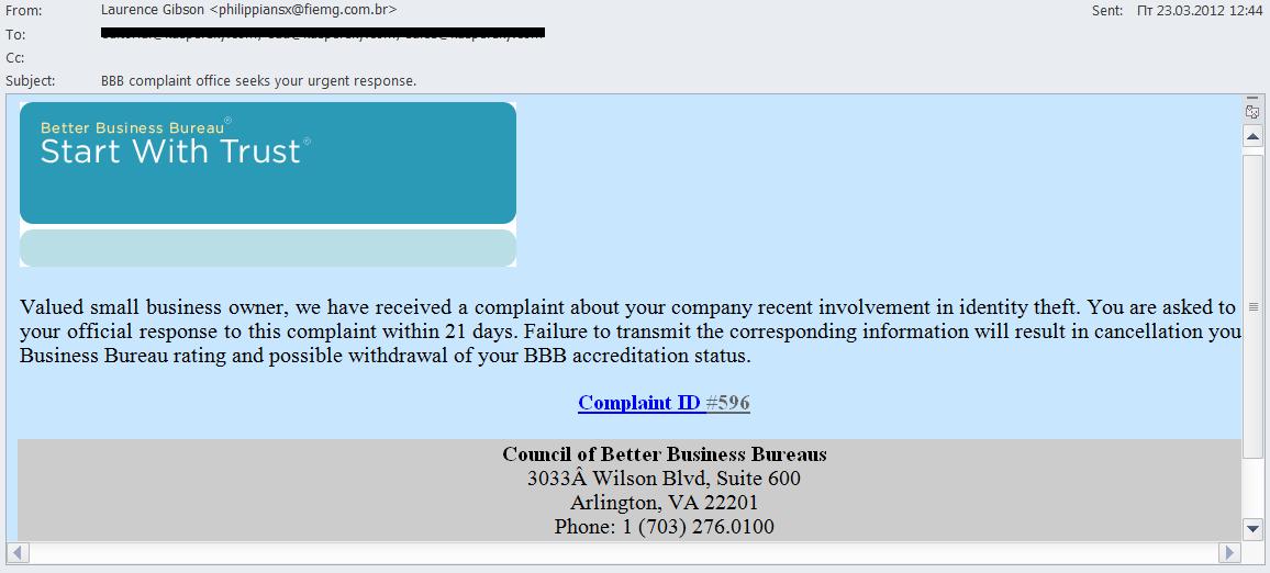 Better Business Bureau en ligne de rencontres plaintes 10 faits sur l'abus de datation
