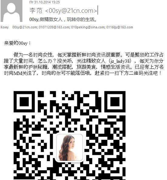 Bulletin de Kaspersky sur la sécurité. Spam en 2015