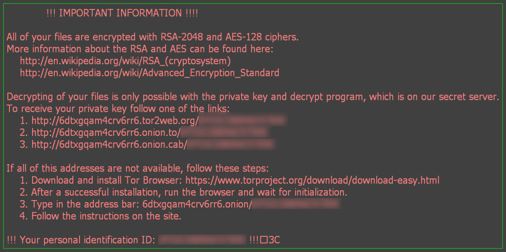 Locky, un ransomware international