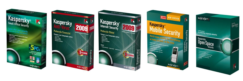 Kaspersky 2008 Security Software