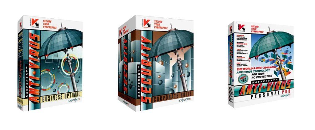 Kaspersky Anti Virus Personal Pro, Business Optimal & Corporate Suite