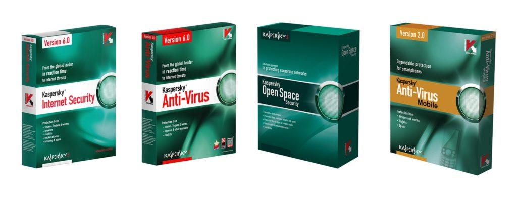 Kaspersky Internet Security, Anti-Virus, Open Space & Anti Virus Mobile