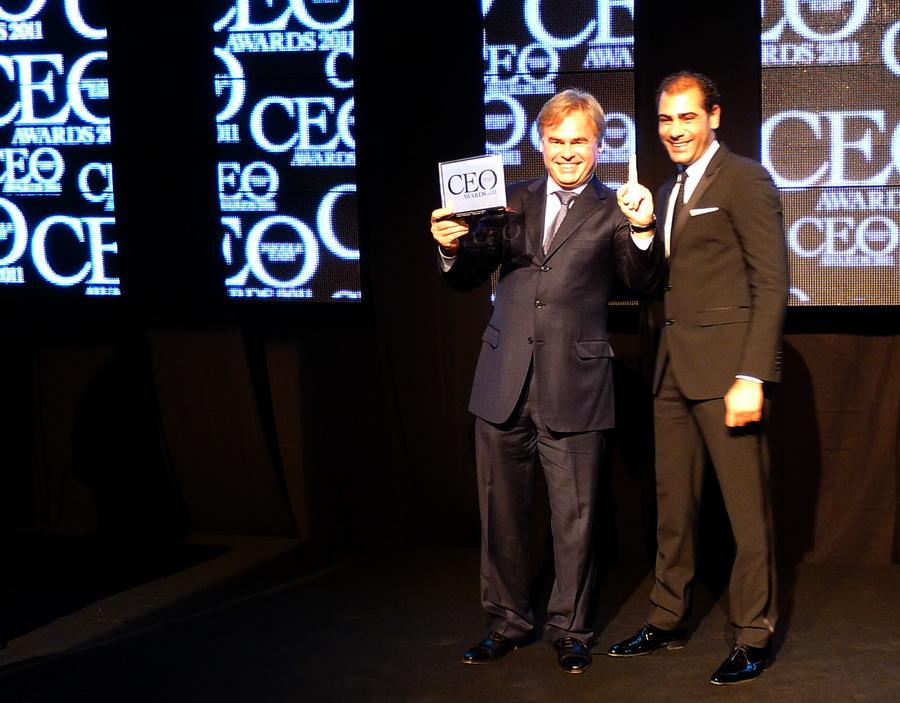 Eugene Kaspersky at the CEO Awards