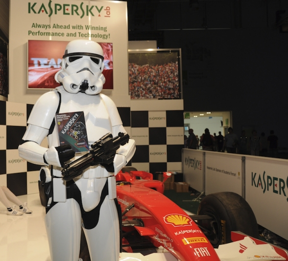 Kaspersky at Gamescom Expo