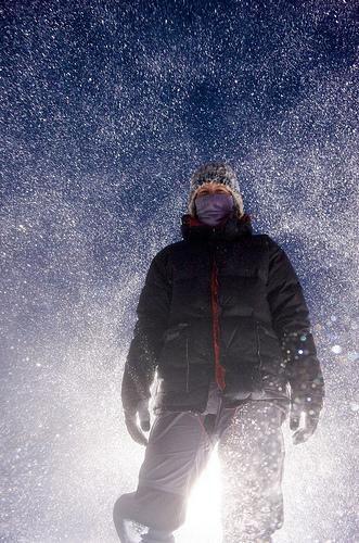 Felicity Aston in Antarctica