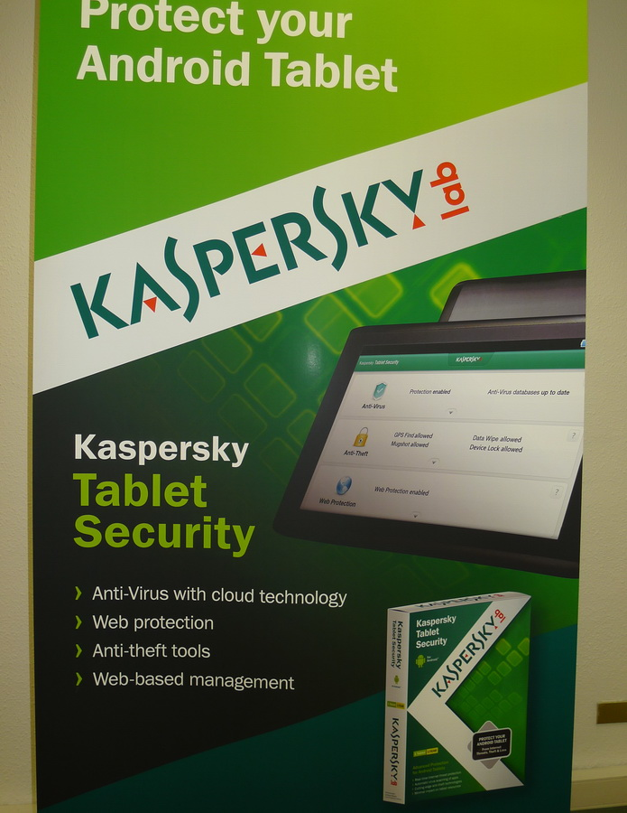 Kaspersky Android Tablet