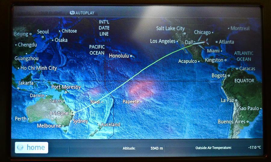 Flight Plan Map