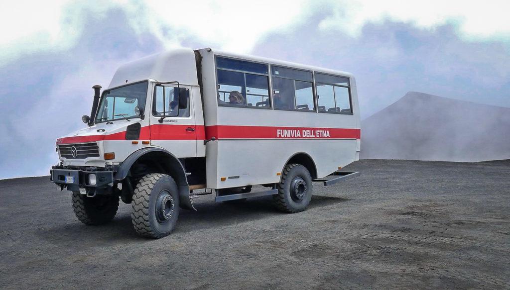 Mount Etna Truck
