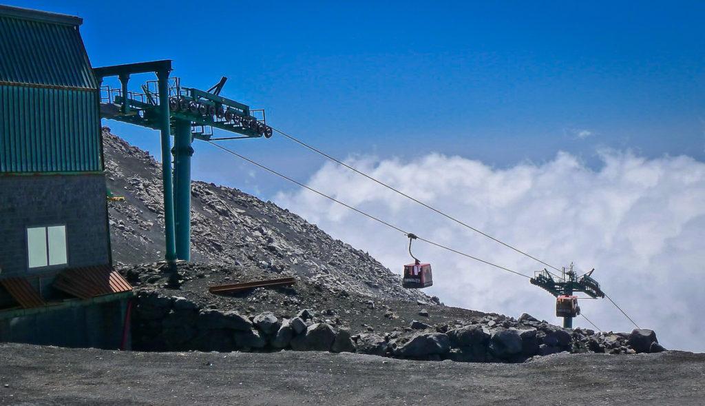 Mount Etna Gondola