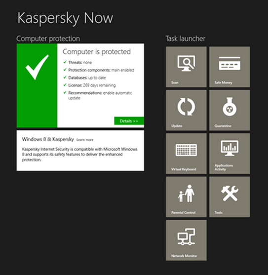Kaspersky Now For Windows