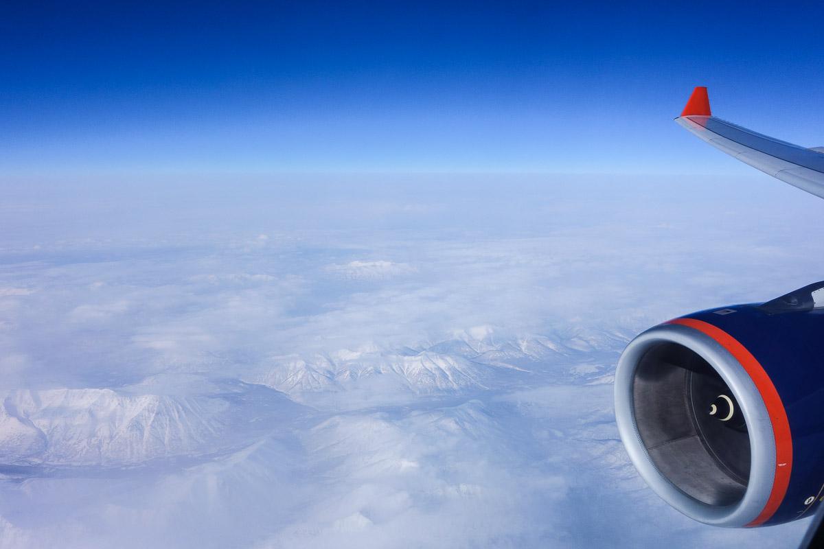 aeroflot-flying-over-kamchatka