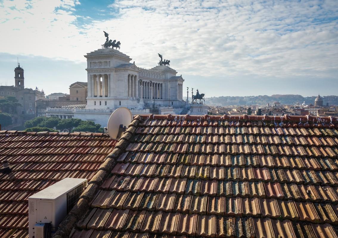 It's (always) sunny in Rome