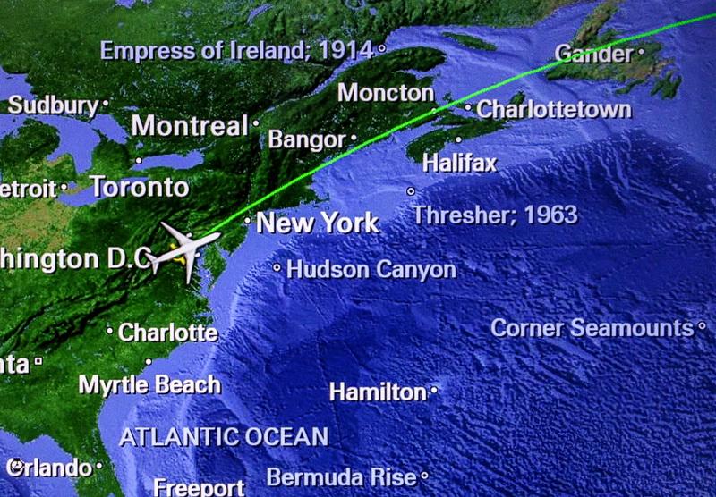 Why ship wrecks on air maps?