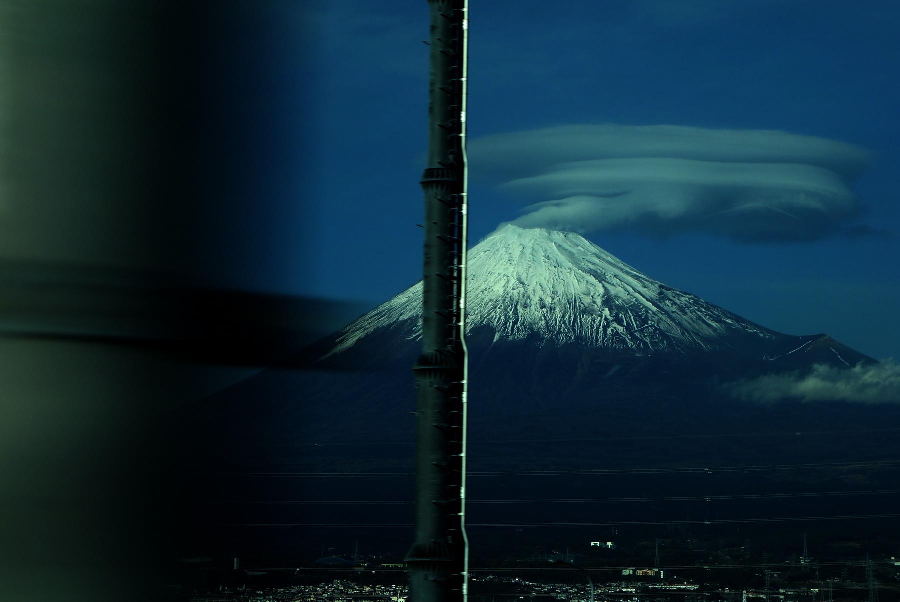 Mj Fuji from Shinkansen