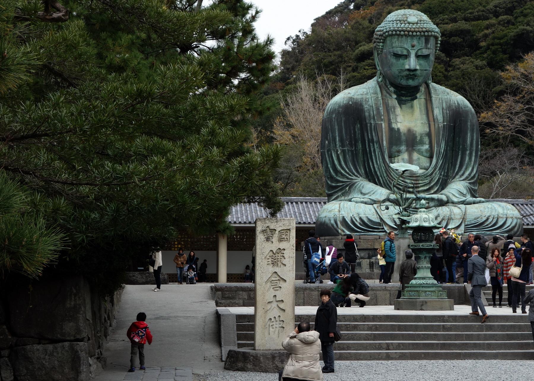 Grat Buddha statue in Kotoku-in