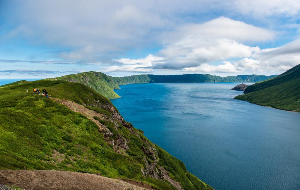 Kuril islands, Krenitsyn volcano