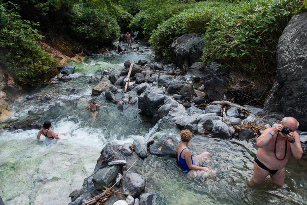 Iturup hot springs